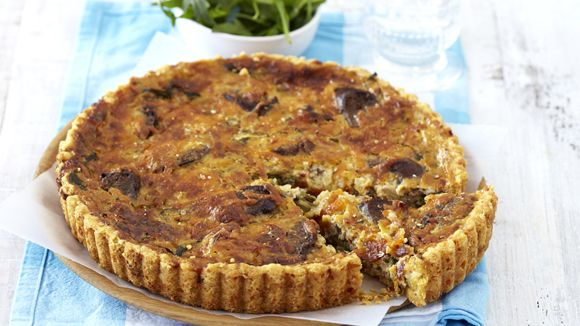 Boerewors And Onion Quiche