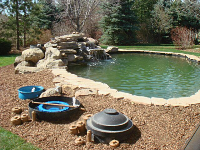 30 best images about backyard living and outdoor fun on for Koi pool water