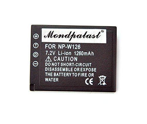 Mondpalast @ Remplacement Batterie NP-W126 NPW126 x 1 Li-ion 1260mah + chargeur EU pour Fujifilm XE-2 X-T1 XT1 X-E1 X-M1 X-Pro1 HS30 HS30EXR HS33EXR X-T10 Mondpalast https://www.amazon.fr/dp/B00M9C9HFQ/ref=cm_sw_r_pi_dp_zRlcxb3Q5GA99