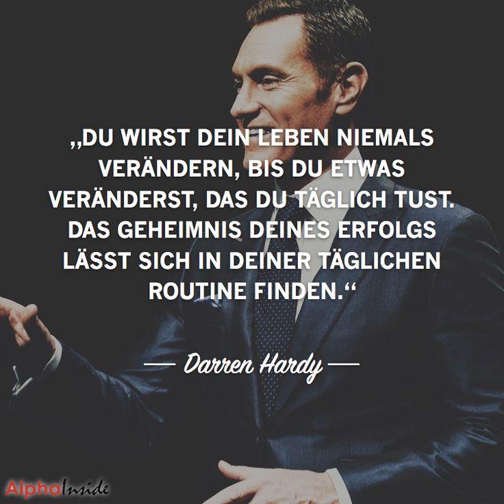 """JETZT FÜR DEN DAZUGEHÖRIGEN ARTIKEL ANKLICKEN!----------------------""""Du wirst dein Leben niemals verändern, bis du etwas veränderst, das du täglich tust. Das geheimnis deines erfolgs lässt sich in deiner täglichen routine finden."""" ― Darren Hardy"""