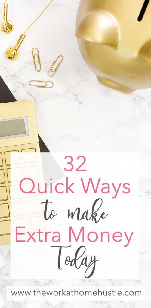 32 easy ways to make extra money today