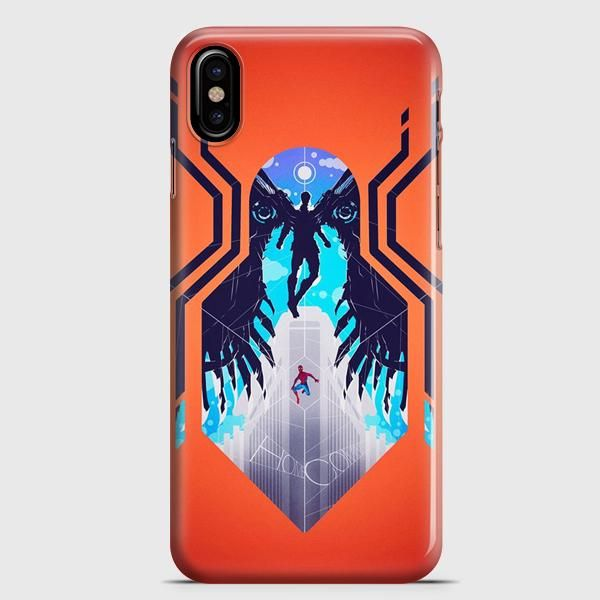 Spiderman Movie Illustration iPhone X Case | casescraft