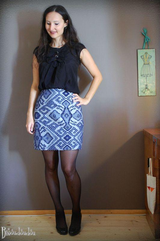 La jupe bravo - tuto d'anniversaire
