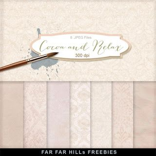New Freebies Kit - Cocoa and Relax