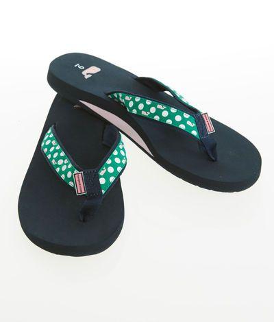 women's accessories polka dot whale flip flops for women