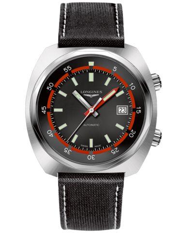 Longines Heritage Men's The Longines Legend Diver Watch - L2.795.4.52. – Salera's Jewellmasters #longines @longineswatches