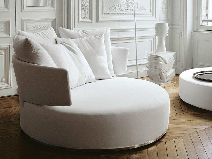 Descarga el catálogo y solicita al fabricante Amoenus | sofá de tela By maxalto, sofá redondo de tela diseño Antonio Citterio, Colección amoenus