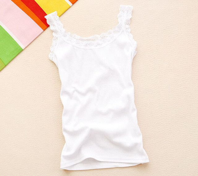 WANAYOU Women Sexy Tank Tops,Multicolors Sleeveless Bodycon Temperament T-shirt Vest,Summer Fashion Lace Camisole Top