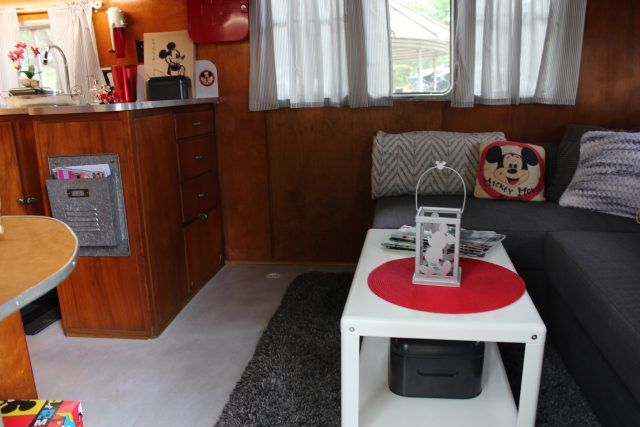 Beautiful trailer. Restored 2014/2015. Recently in the 2016 July/August (Barn Finds) addition of Vintage Camper Trailers Magazine. Masonite sided. Wood interior. Queen bed in rear bedroom, and front sectional couch pulls out into a queen in 10 seconds. Any questions please don't hesitate to ask...