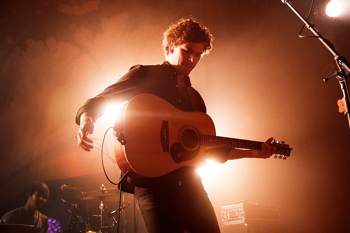 Photos of Vance Joy at Denver's Gothic Theater in Spring 2015.