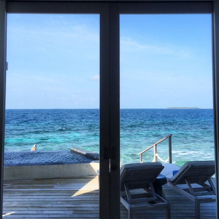 Island views from our Water Villa 40 | Viceroy Maldives
