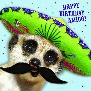 Happy birthday amigo