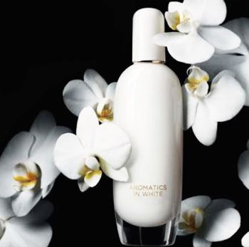Clinique Aromatics in White # amber balsamic warm spicy musky vanilla rose - 2015