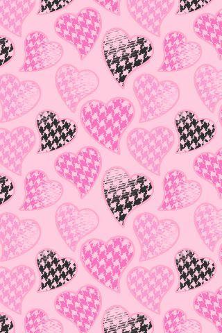 Cute Hearts Wallpaper.