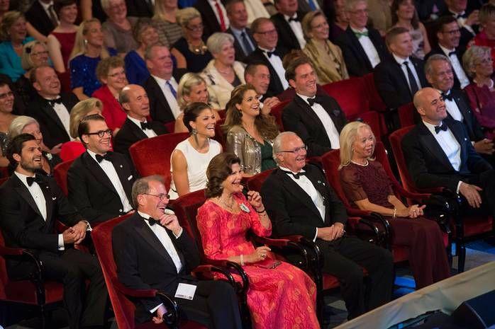 چهلمین سالگرد پادشاهی کارل گوستاو شانزدهم جشن گرفته شد - SwedenFarsi