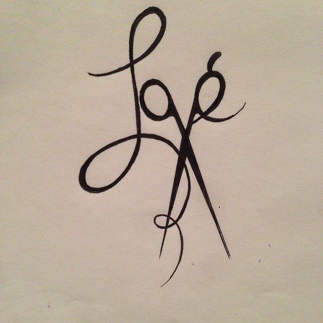Hairstylist tattoo