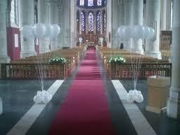 kerkversiering bruiloft - Google zoeken