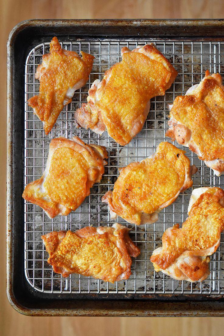 Whole30 Day 16: Ollie's Cracklin' Chicken by Michelle Tam / Nom Nom Paleo http://nomnompaleo.com