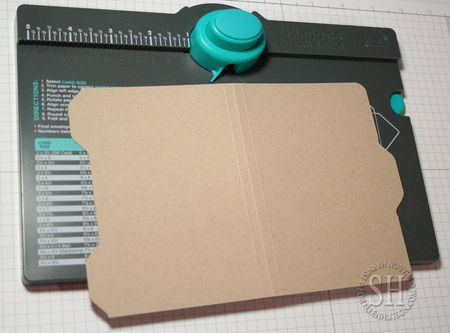 File Folder Cards with WRM Envelope Punch Board by Sharon Harnist