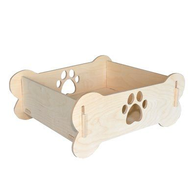 Tucker Murphy Pet Toy Wooden Field