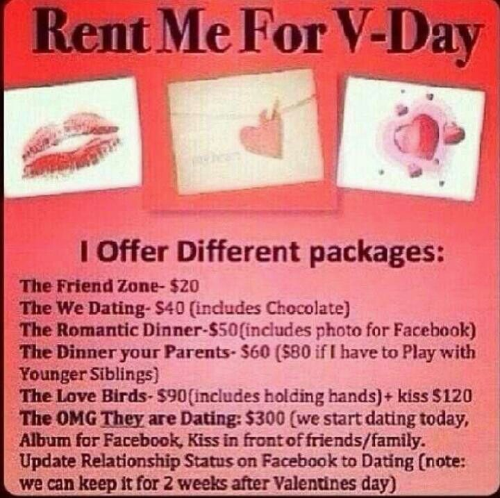 Rent me for Valentines Day | Haha.... Ohhhhh..... Hmmmm ...