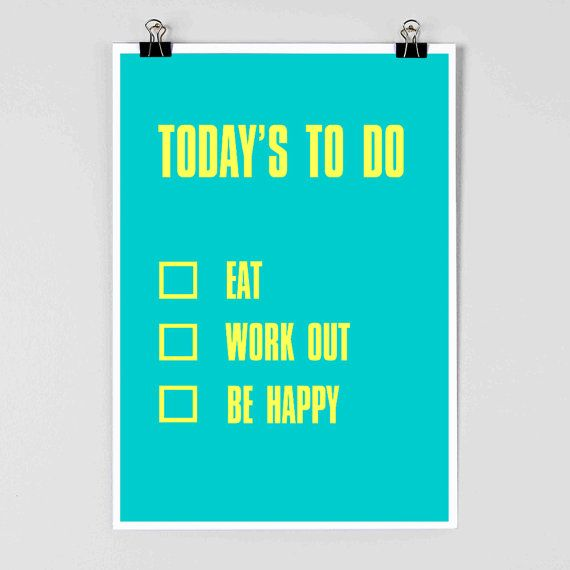 Simple. Stop thinking about it - just make it your new daily goal and then *boom* RESULTS