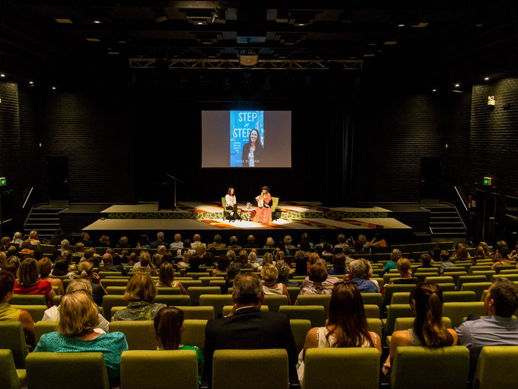 @buchan6169 and Zoe Naylor in conversation at the launch of Linda's memoir at Ravenswood School for Girls