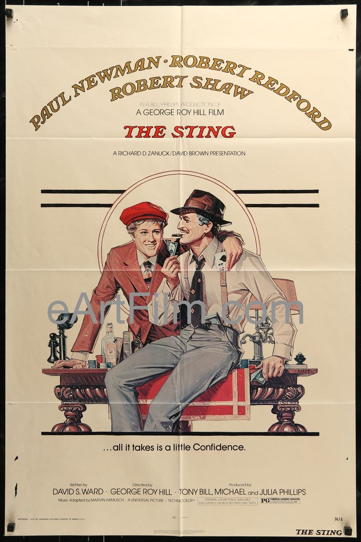 Love movies as much as we do? The Sting-Robert ... For your consideration. http://eartfilm.com/products/the-sting-robert-redford-paul-newman-robert-shaw-eileen-brennan-1974?utm_campaign=social_autopilot&utm_source=pin&utm_medium=pin