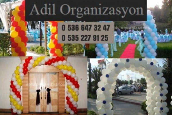 Adil Organizasyon balon süsleme, açılış organizasyonluğu yaparak başladı ve büyümeye devam etmektedir.