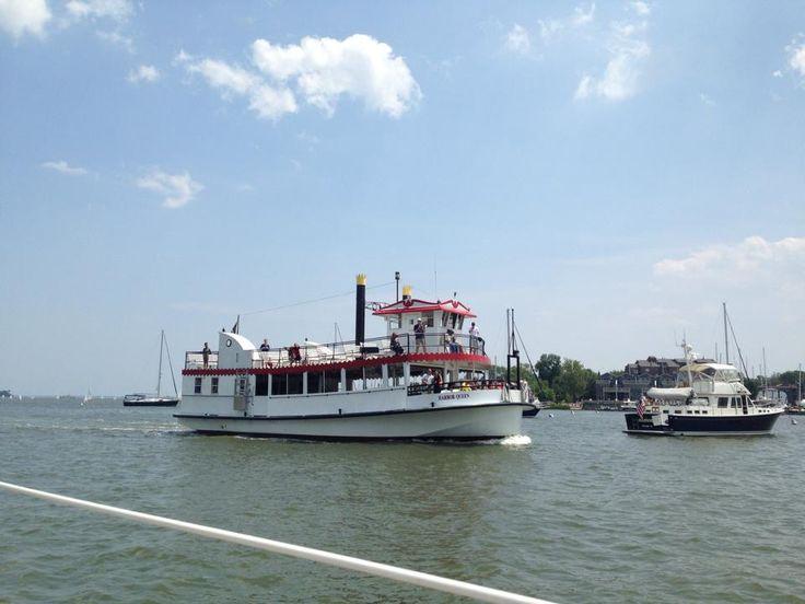 Boat Tour Downtown Annapolis