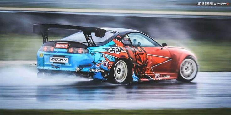 Elegant Toyota Supra Drift #ToyotaSupra #Drift