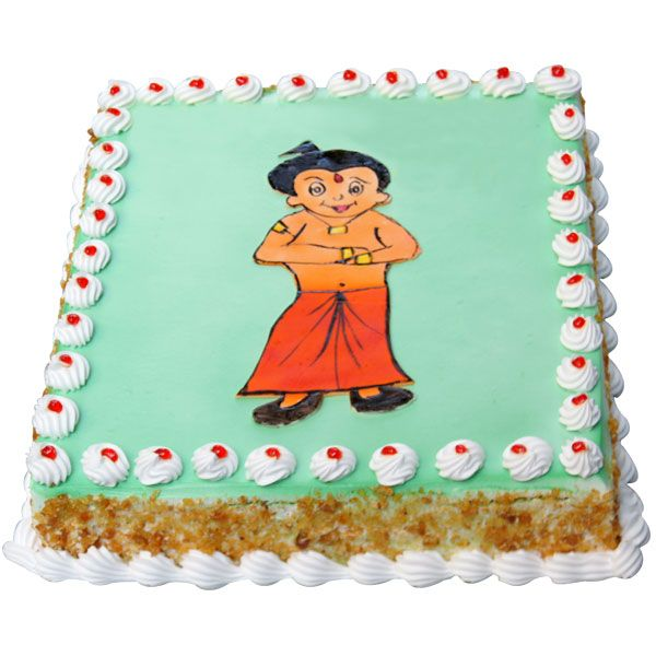 A Piece of fantasy, a cute gift for a cute little kid, this Chota Bheem Cake can really bring smiles of eternal contentment on any occasion.