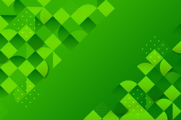 Download Background With Different Green Shapes For Free In 2020