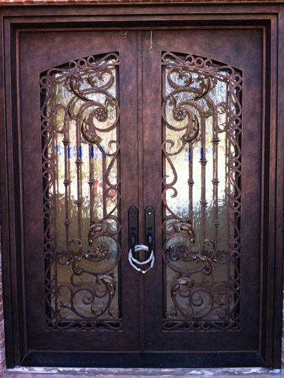 Wrought Iron Doors Gallery \u2013 Ornamental Forged Iron in Dallas Texas & 66 best Ornamental iron entry doors images on Pinterest | Entrance ...