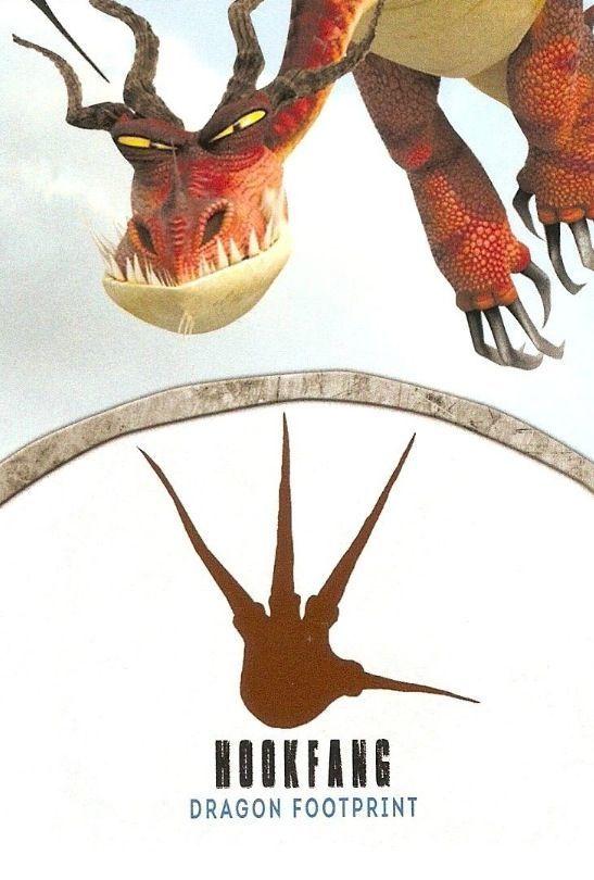 dragon footprint Hookfang
