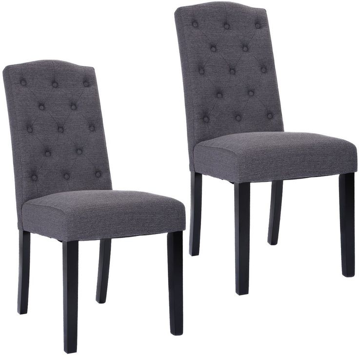 tufted accent chairs set of 2