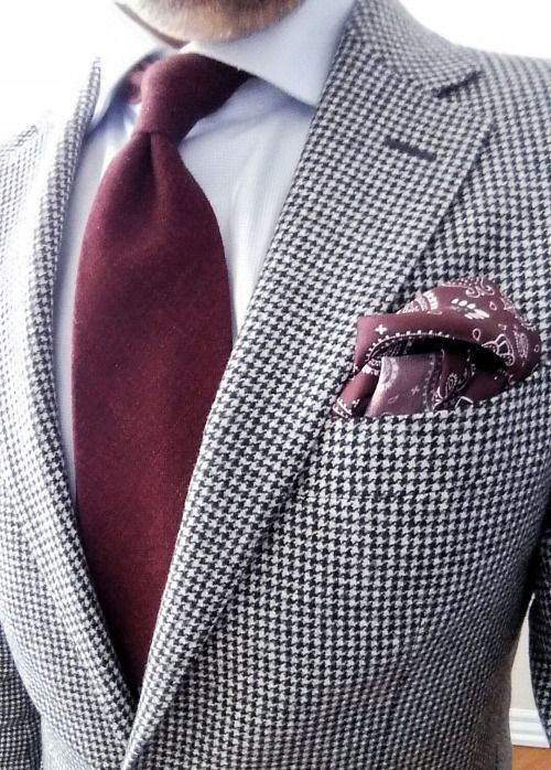 Men's Style Inspiration | Suits | Ties | Pocket Squares #menssuitscasual