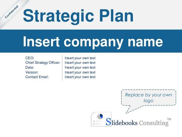 Simple Strategic Plan Template