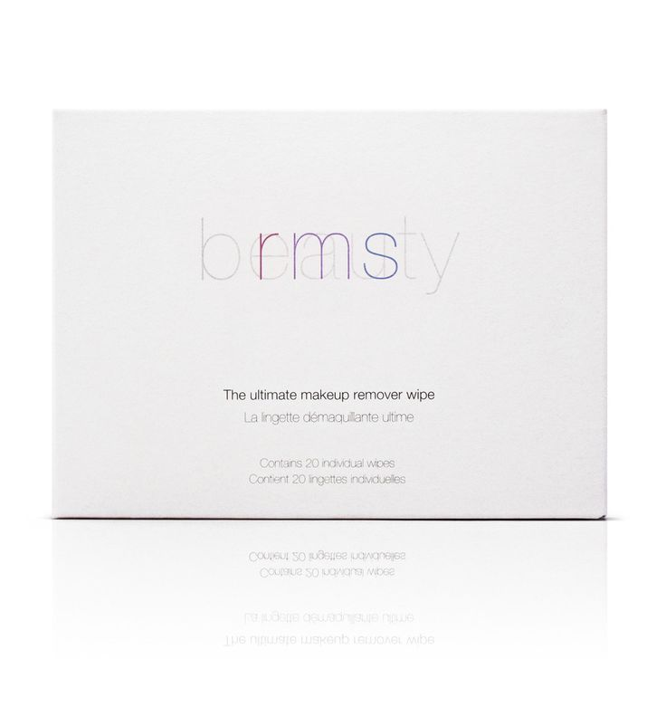 RMS the ultimate makeup remover wipe 20-pack