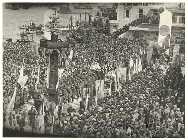 Κηδεία E. Βενιζέλου...1936 Funeral of Eleftherios Venizelos (Chania)...1936 ELIA archives