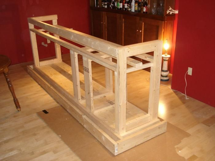 Step by step photos of building a house pub so cool for Diy home building plans