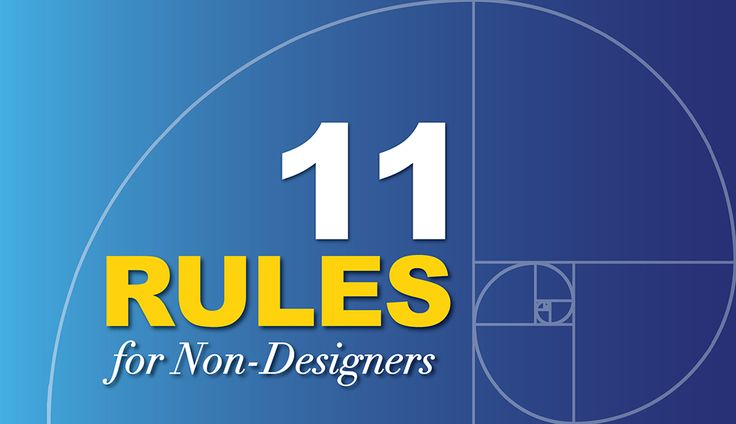 11 Rules of Composition for Non-Designers