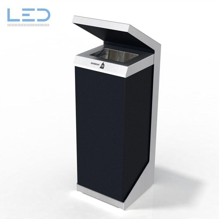 Q-Bin Wertstoffbehälter, Abfallbehälter für 110l Abfalltüten, modulare Recyclingstation beliebig kombinierbar mit anderen Wertstofffraktionen. SwissMade