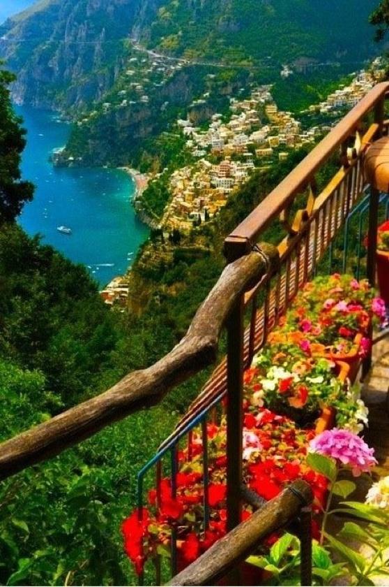 Amalfi Coast,  Provence of Salerno, Italy.