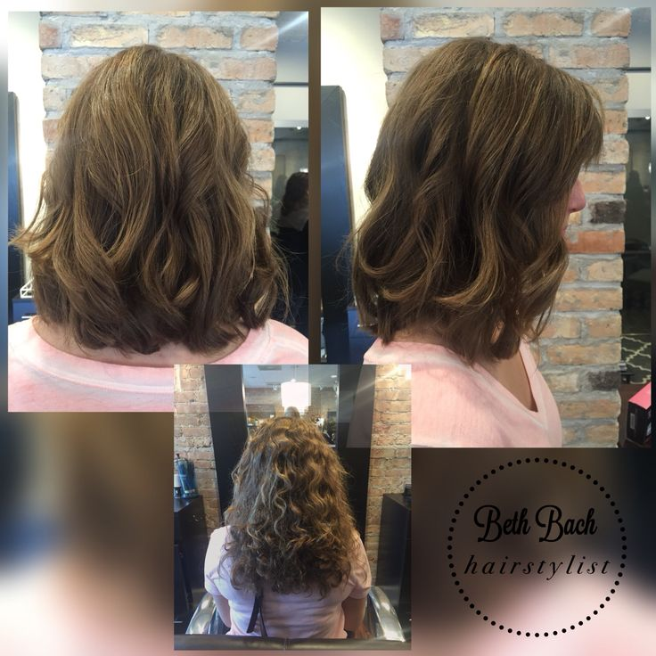 before & after haircut & style