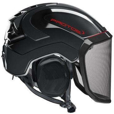 Protos Arborist Integral now in black.  8X MORE SAFETY