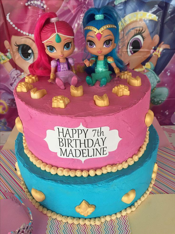 Shimmer And Shine Birthday Cake Cakes Shimmer Shine