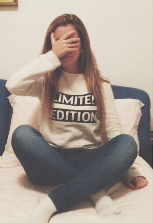 Long hair don't care hipster indie tumblr girl fashion limited edition