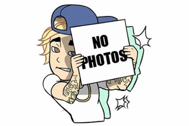 Pop Star Emojis After Kim Kardashian's Kimojis, Justin Bieber emoji is next in line.