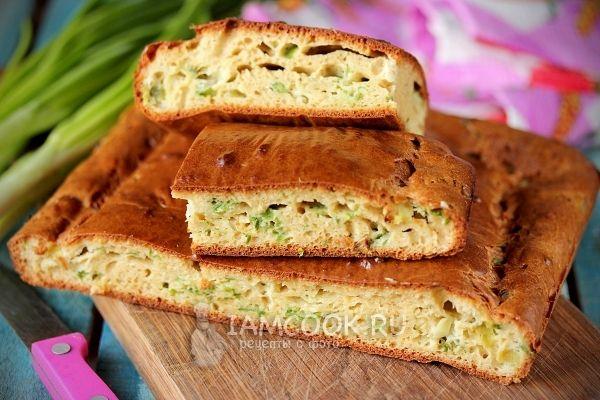 Фото самого вкусного заливного лукового пирога